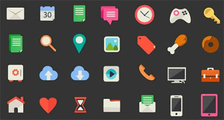Freepik's 200 Beautiful Flat Icons