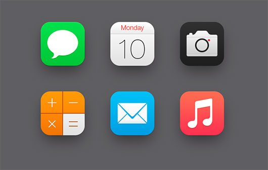 iOS7 Icons by ididi
