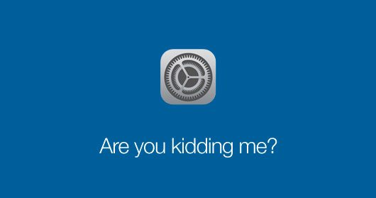 iOS 7 Settings Icon by Min Ming Lo