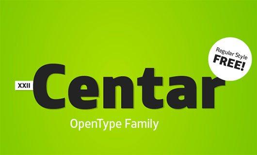 XXII Centar Sans by Doubletwo Studios