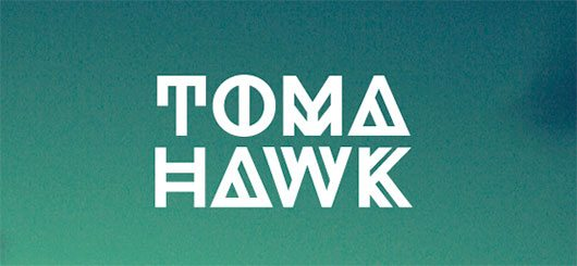 Tomahawk Font by Tommy Larsen