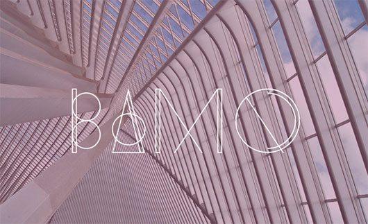 Bamq Typeface by Gulay Inceoglu