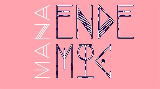 MANA UT (Endemic) font by Rafa Goicoechea