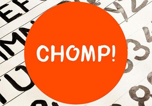 Chomp! Typeface by Bayley Design
