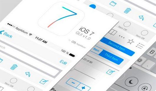 iOS7 GUI