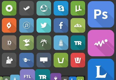 Flat Icons Pack. by Ross Wilson