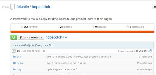 Hopscotch - a framework to make it easy for developers