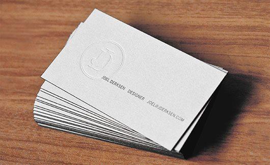 Joel Derksen: Business Cards