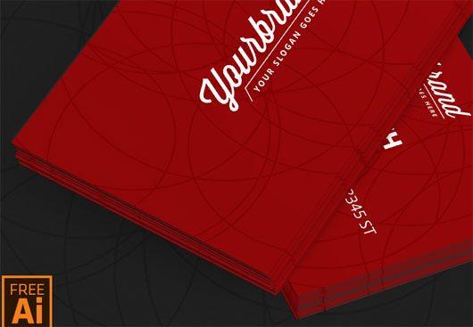 Business Card Template [Ai File] by Mamun Srizon