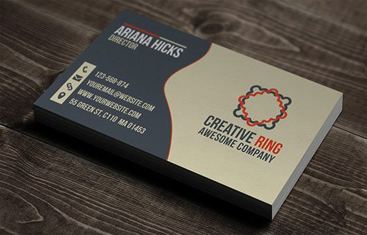 Creative Ring Business Cards