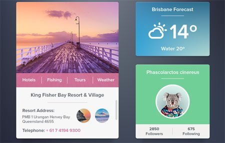 Widgets Set [Freebie] by Alexander Zaytsev