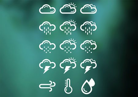 Weather Icons...!!! by Harshil Acharya