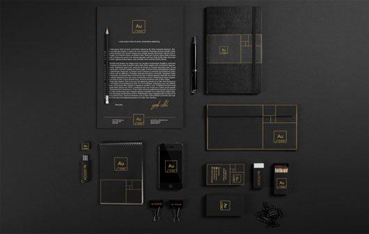 Au Brand Identity by Ayoob Ullah