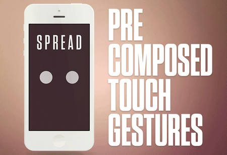 Precomposed Touch Gestures by Areus Wade