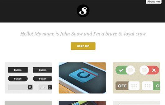EasyPortfolio – Free HTML5 and CSS3 flat portfolio