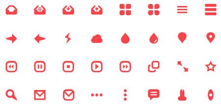 32 ICONS FOR FREE by Zeki Ghulam (Flat & Filthy)