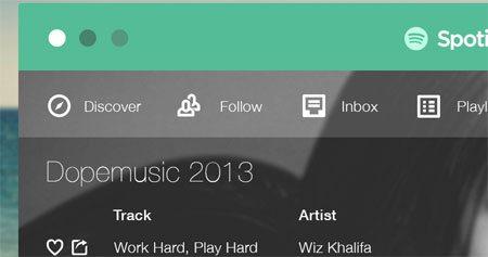 Spotify Flat by Nabil Ghulam