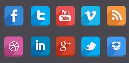 Social Media Icons (Free Psd) by Hakan Ertan