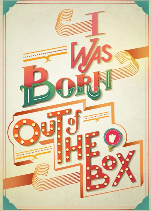 I Was Born Out of The Box by Olivia Ariferiani
