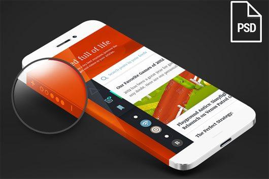 Iphone 6 Wrap Around screen by Claudio Guglieri