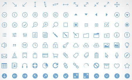 Icon Font by Elegant Themes