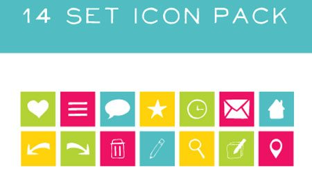 14 Set Icon Pack by Whitney CPBG