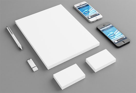 Stationary Mockup by Heiko Klingele