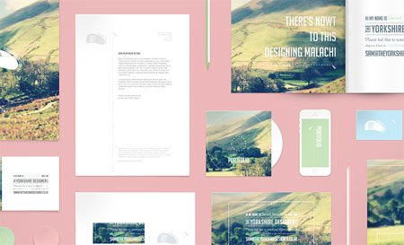 Stationary Mockup PSD by Samuel James Oxley