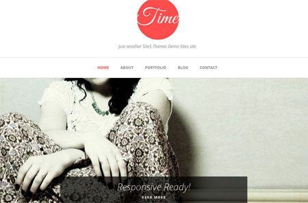 Time - A clean responsive theme for personal blogs