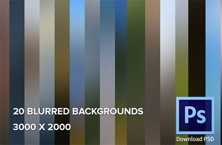 20 Blurred Backgrounds by Barin Cristian