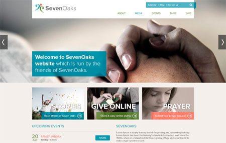 Seven Oaks Psd Theme