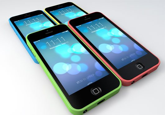 iPhone 5c Freebie Renders by Scott Fustin