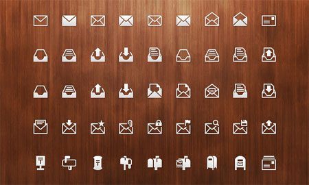 Mail PSD Icon Set by Azis Hertanto
