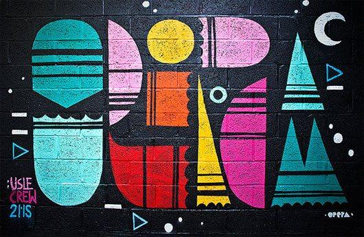 MINIMAL GRAFFITI by Stéphane Vignal / Opéragraphiks