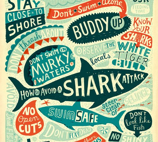 How to Avoid a Shark Attack by Linzie Hunter