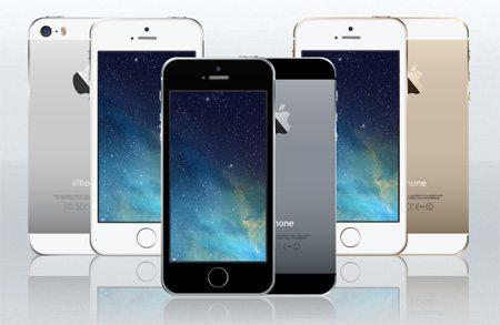 iPhone 5s Vector by Petshopbox