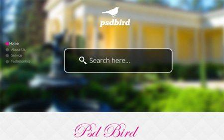 Parallax Scrolling Website Template