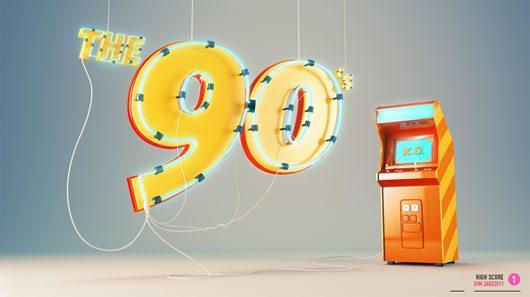 The 90's by Dimitri Bastos