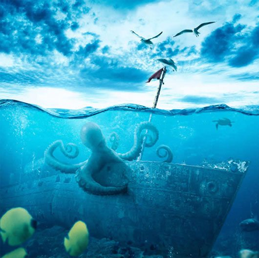 Create a Realistic Underwater Scene in Photoshop