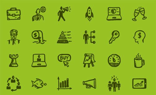 Busy Icons Free by Hatchers