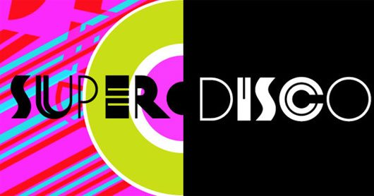 Super Disco Typeface by Brownfox
