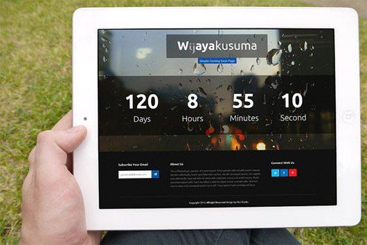 Wijayakusuma Free PSD + HTML by Bagus Fikri