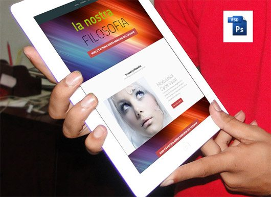 iPad Mockup PSD by Al Rayhan