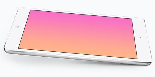 iPad Mini PSD Mockup Templates