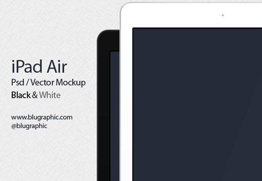 New Ipad Air Mockup