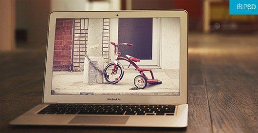 MacBook Air Mockup #2 PSD