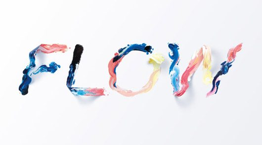 Flow — Typographic illustration by SAWDUST