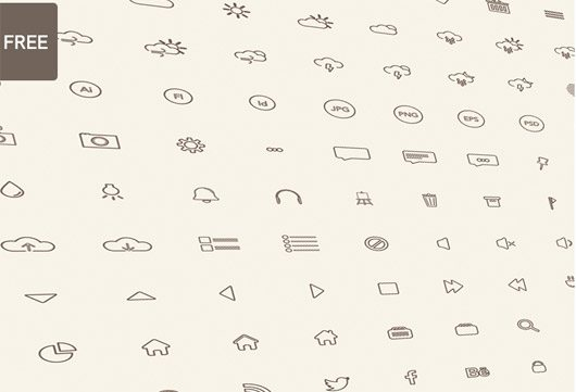 Icon Set (144) by Katarina Stefanikova