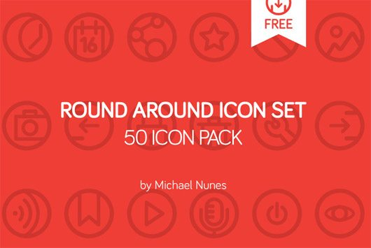 Round Around 50 icon pack by Michael Nunes