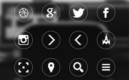 8-bit Icons